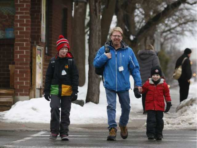david-loehr-walks-to-hopewell-avenue-public-school-with-his